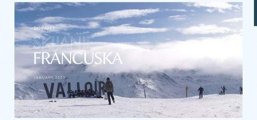 Skijanje Francuska